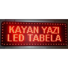 LED TABELA KAYAN YAZI 16x64cm
